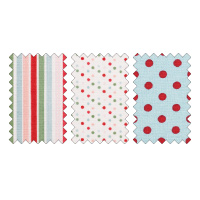 Candy cane fabric