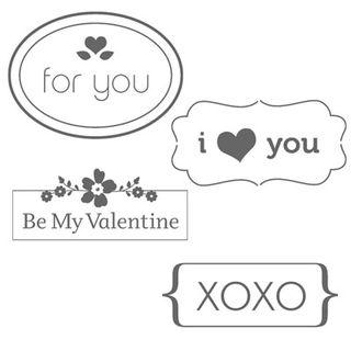 My little valentine set