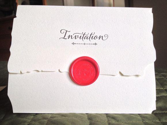 Manager's Reception Invite!