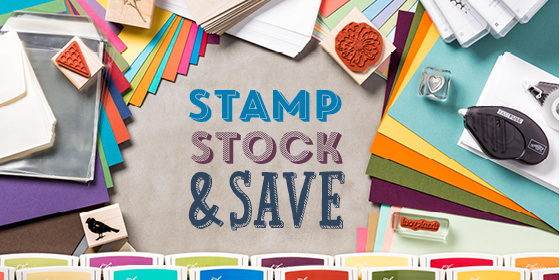 Stamp,stock and save
